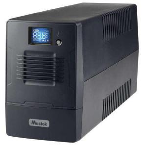 """Ups Mustek Powermust 600 Line Interactive Lcd (600va / 360w), Iec(4), Avr, Usb, Rj11, """"600-Lcd-Li-T20"""""""