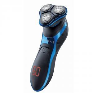 Aparat de ras Remington HyperFlex Aqua Pro XR1470, Acumulator Litiu, Autonomie 60 minute, Incarcare rapida, 100% rezistent la apa, Functie Turbo, Negru/Albastru