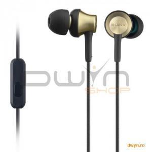 Casti Sony MDR-EX110, Frecventa (Hz) 5 - 24.000, Impedanta (ohmi) 16, conector stereo in forma de L,