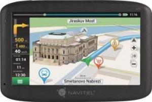 "Sistem de navigatie GPS NAVITEL F300 + Harta full Europa (47 tari), update pe viata, memorie 8GB, ecran 5"""