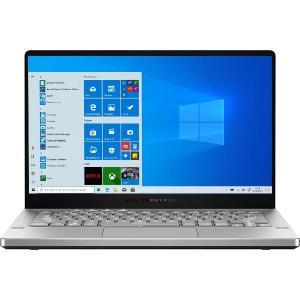 Laptop ASUS Gaming 14'' ROG Zephyrus G14 GA401IV, FHD 120Hz, Procesor AMD Ryzen™ 9 4900HS (8M Cache, up to 4.40 GHz), 16GB DDR4, 1TB SSD, GeForce RTX 2060 6GB, Win 10 Home, Moonlight White AniMe Matrix