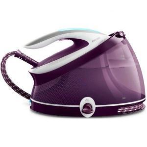 Statie de calcat Philips PerfectCare Aqua Pro GC9315/30, Optimal Temp, talpa T-ionicGlide, 120 g/min, 420 g abur, 6.5 bari, rezervor 2500 ml, Easy De-Calc, Violet