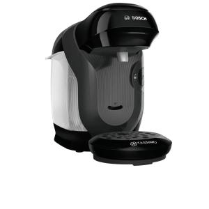 Aparat pentru bauturi calde, Bosch Tassimo Style TAS1102, 1400 W, 0.7L, 3.3 bar, autocuratare si decalcifiere, Negru
