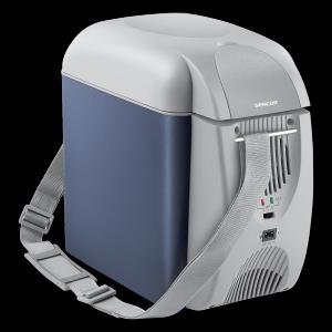 Geanta frigorifica, pentru camping, racire + incalzire, Sencor, SCM 4700BL, termoelectrica, 7 litri, 12V