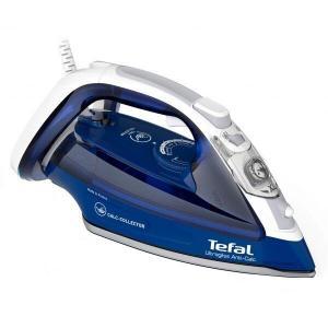 Fier de calcat TEFAL UltraGliss FV4998E0, 2600W, abur variabil 45g/min, functie Auto OFF, talpa Durilium AirGlide, rezervor 270 ml, albastru