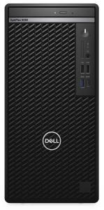 Sistem Desktop Dell Optiplex 5080 MT/Core i7-10700/8GB/256GB SSD/Integrated/DVD RW/Kb/Mouse/260W, Windows 10 Pro