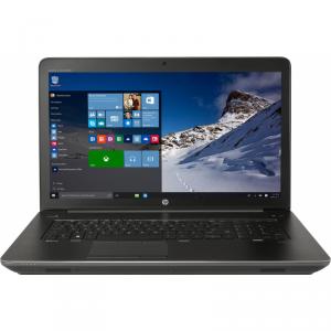 Laptop Laptop HP 17.3 inch ZBook 17 G3, FHD, Procesor Intel® Core™ i7-6700HQ (6M Cache, up to 3.50 GHz), 8GB DDR4, 1TB 7200 RPM + 256GB SSD, Quadro M1000M 2GB, FingerPrint Reader, Win 7 Pro + Win 10 Pro