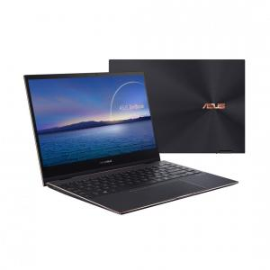 Ultrabook ASUS 13.3'' ZenBook Flip S UX371EA, UHD OLED Touch, Procesor Intel® Core™ i7-1165G7 (12M Cache, up to 4.70 GHz, with IPU), 16GB DDR4X, 512GB SSD, Intel Iris Xe, Win 10 Pro, Jade Black