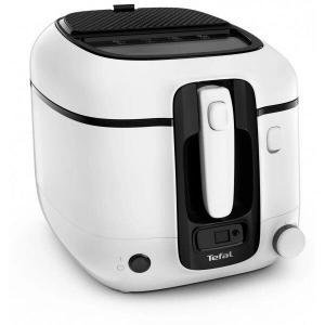 Friteuza TEFAL Super Uno FR314030, capacitate preparare 1.5KG, filtru miros, termostat ajustabil 190°C, Alb