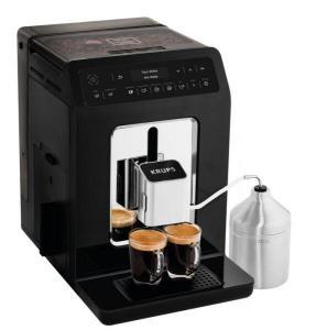 Espressor Automat Krups Evidence EA891810, 1450W, 15 bar, capacitate apa 2.3 L, capacitate boabe 260g, Negru