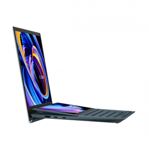 Ultrabook ASUS 14'' ZenBook Duo 14 UX482EG, FHD, Procesor Intel® Core™ i5-1135G7 (8M Cache, up to 4.20 GHz), 8GB DDR4X, 1TB SSD, GeForce MX450 2GB, Win 10 Pro, Celestial Blue