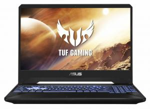 Laptop ASUS Gaming 15.6'' TUF FX505DT, FHD, Procesor AMD Ryzen™ 7 3750H (4M Cache, up to 4.00 GHz), 8GB DDR4, 512GB SSD, GeForce GTX 1650 4GB, No OS, Black