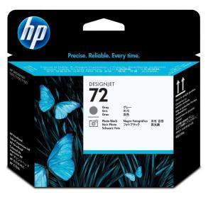 Cap de imprimare original HP 72 Gray & Photo Black - C9380A - pentru HP Designjet T1100, T1120, T1200, T2300, T610, T620, T770, T790, T795