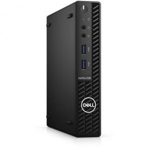 Sistem desktop Dell OptiPlex 3080 MFF Intel Core i3-10100T 8GB DDR4 256GB SSD Windows 10 Pro 3Yr NBD Black