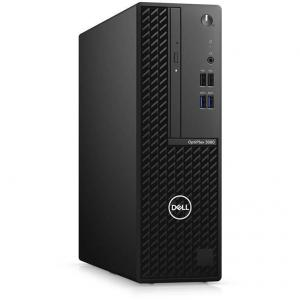 Sistem desktop Dell OptiPlex 3080 SFF Intel Core i3-10100 8GB DDR4 256GB SSD Windows 10 Pro 3Yr NBD Black