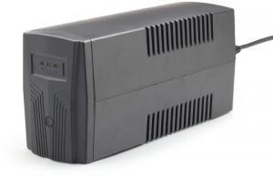 UPS Energenie by Gembird 650 VA ''Basic 650'' UPS,AVR,Shuko output sockets,negru