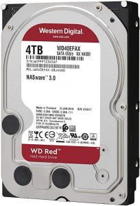 "HDD3.5 4TB SATA WD40EFAX HDD intern WD, 3.5"", 4TB, RED, SATA3, IntelliPower (5400rpm), 64MB, adv. format(AF), NASware"