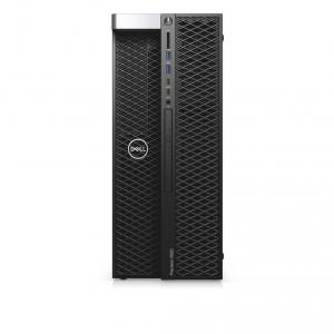 Sistem Desktop Dell Precision 5820 Tower, Intel Core i9-10920X, RAM 32GB, HDD 2TB + SSD 256GB, nVidia Quadro RTX 4000 8GB, Windows 10 Pro