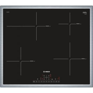 Plita incorporabila Bosch PIF645FB1E Seria 4, Inductie, PowerBoost, 4 zone de gatire, 58.3 cm, Ceramica