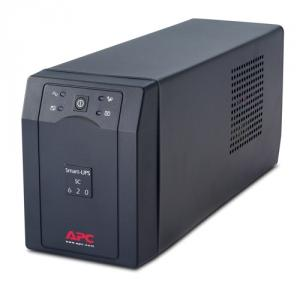 UPS APC Smart-UPS SC line-interactive / aprox.sinusoida 620VA / 390W 4 conectori C13, optional extin