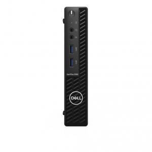 Desktop Dell Optiplex 3080 MFF Intel Core (10th Gen) i3-10100T 256GB SSD 8GB Win10 Pro Mouse+Tastatura WiFi