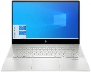 Laptop HP 15.6'' ENVY 15-ep0018nq, FHD IPS, Procesor Intel® Core™ i7-10750H (12M Cache, up to 5.00 GHz), 32GB DDR4, 2x 512GB SSD, GeForce GTX 1660 Ti 6GB, Win 10 Pro, Natural Silver