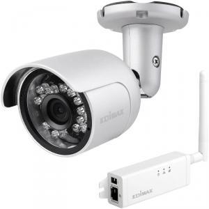 Camera de supraveghere Edimax 720p Outdoor Wireless H.264 IP Camera, IP66, SD card, mini, IR cut filter