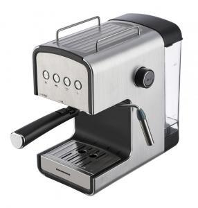 Espressor semi-automat Heinner HEM-B2012SA, 20 bar, 850W, rezervor apa detasabil 1.2l, optiuni presetate pentru espresso lung/scurt, filtru din inox, plita pentru mentinere cafea calda, decoratii inox