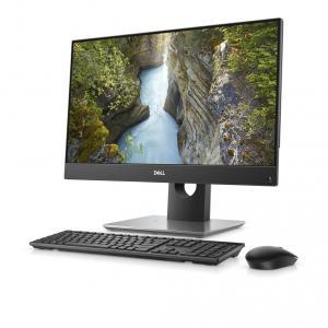 Desktop All-in-One Dell OptiPlex 5480 Intel Core (10th Gen) i5-10500T 256GB SSD 8GB FullHD Win10 Pro Mouse+Tastatura