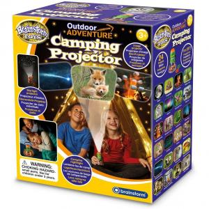 "Aventuri in aer liber "" Proiector si lampa de veghe pentru Camping Brainstorm Toys E2060"