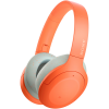 Casti Sony WH-H910ND, Noise Canceling, Quick attention, Hi-Res, Wireless, Bluetooth, NFC, LDAC, Autonomie de 35 ore, Portocaliu