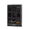 Hdd laptop western digital black performance mobile, 500gb, 7200 rpm,