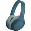Casti Sony WH-H910NL, Noise Canceling, Quick attention, Hi-Res, Wireless, Bluetooth, NFC, LDAC, Autonomie de 35 ore, Albastru