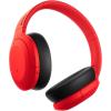 Casti Sony WH-H910NR, Noise Canceling, Quick attention, Hi-Res, Wireless, Bluetooth, NFC, LDAC, Autonomie de 35 ore, Rosu
