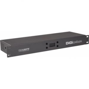 Prolights DIGIDRIVER - Master driver for DIGI series, 6 universes, IP20, max cons. 350W, 2.5 kg