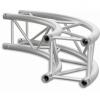 SQ30C1000B - Square section 29 cm circle truss, tube 50x2mm, 4x FCQ5 included, D.1000cm,BK