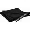 SMG329030BK - Stage backdrop, flame retardant fabric, 320 g/sqm, black, 900x300cm