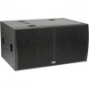 TOURING218SP - Subwoofer 3000/6000W AES/P, (2x18''Nd LF) 4Ohm, 140dB SPL
