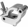 C6020B - Heavy-load aluminum side-clamp, 500kg loa, 48-51mm tubes, M10 bolt, Black