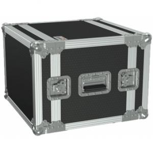 "FCX108/B - 19"" flightcase - 8HE - 360mm depth - Black version"
