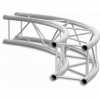 SQ22C400 - Square section 22 cm circle truss, tube 35x2mm, 4x FCQ3 included, D.400,