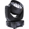 Moving head led wash 19*15w cu zoom