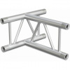 SF30T3H - 3-way T joint for SF30 Series, extrude tube 50x2mm, 2x FCF5 included, Horiz.