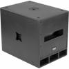 LIVE15S - Subwoofer 500/1000W AES, 15'' LF 8Ohm, 124dB SPL, plywood box