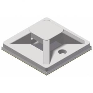 ACM120/W - Self adhesive cable tie mount - 20 x 20 mm - White version