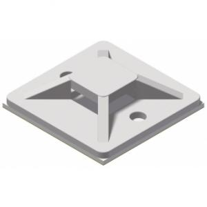 ACM130/W - Self adhesive cable tie mount - 30 x 30 mm - White version