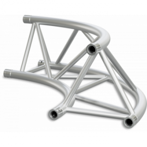 ST40C500IB - Triangle section 40 cm circle truss, tube 50x2mm,4x FCT5 included,D.500,V.Int,BK
