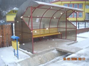 Statie / refugiu  autobuz