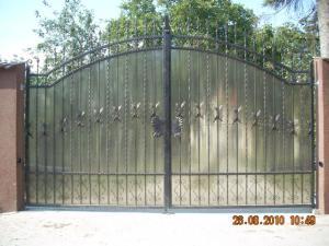 Poarta din fier forjat Bacau - Poderale Company