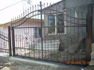 Model gard din fier forjat Poderale Company Bacau